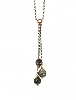 TRINITY PEARL NECKLACE