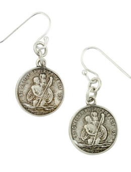 VIRGINS SAINTS & ANGELS LES CELESTES ST. CHRISTOPHER