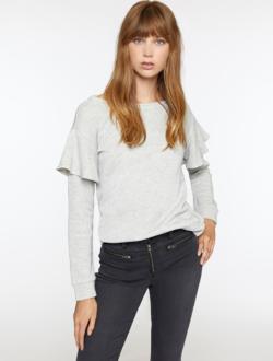Dominique Metallic Sweatshirt
