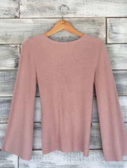 CASHMERE BLEND FRONT-TO-BACK-PULLOVER | MICHAEL STARS