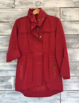 BLOOD RED | ANORAK