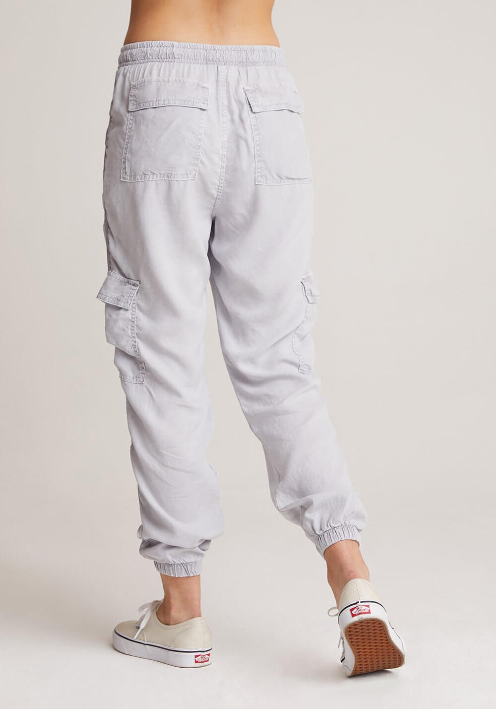 CARGO JOGGER WITH SATIN TRIM
