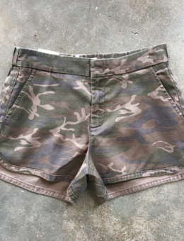 CAMO TROUSER SHORTS – SHOP THE LOOK