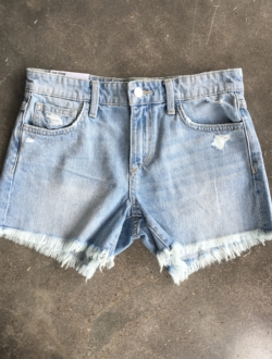 LIGHT DENIM CUTOFF SHORTS – SHOP THE LOOK