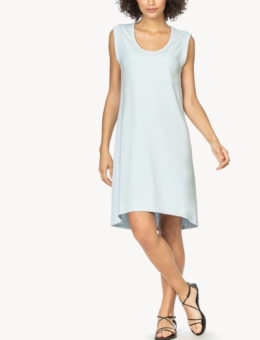 ICE SCOOP NECK POCKET DRESS