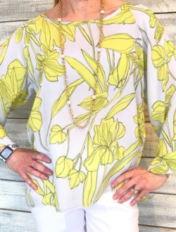IN FULL BLOOM BLOUSE