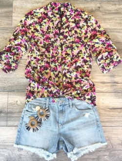 ALWAYS A WILDFLOWER BLOUSE