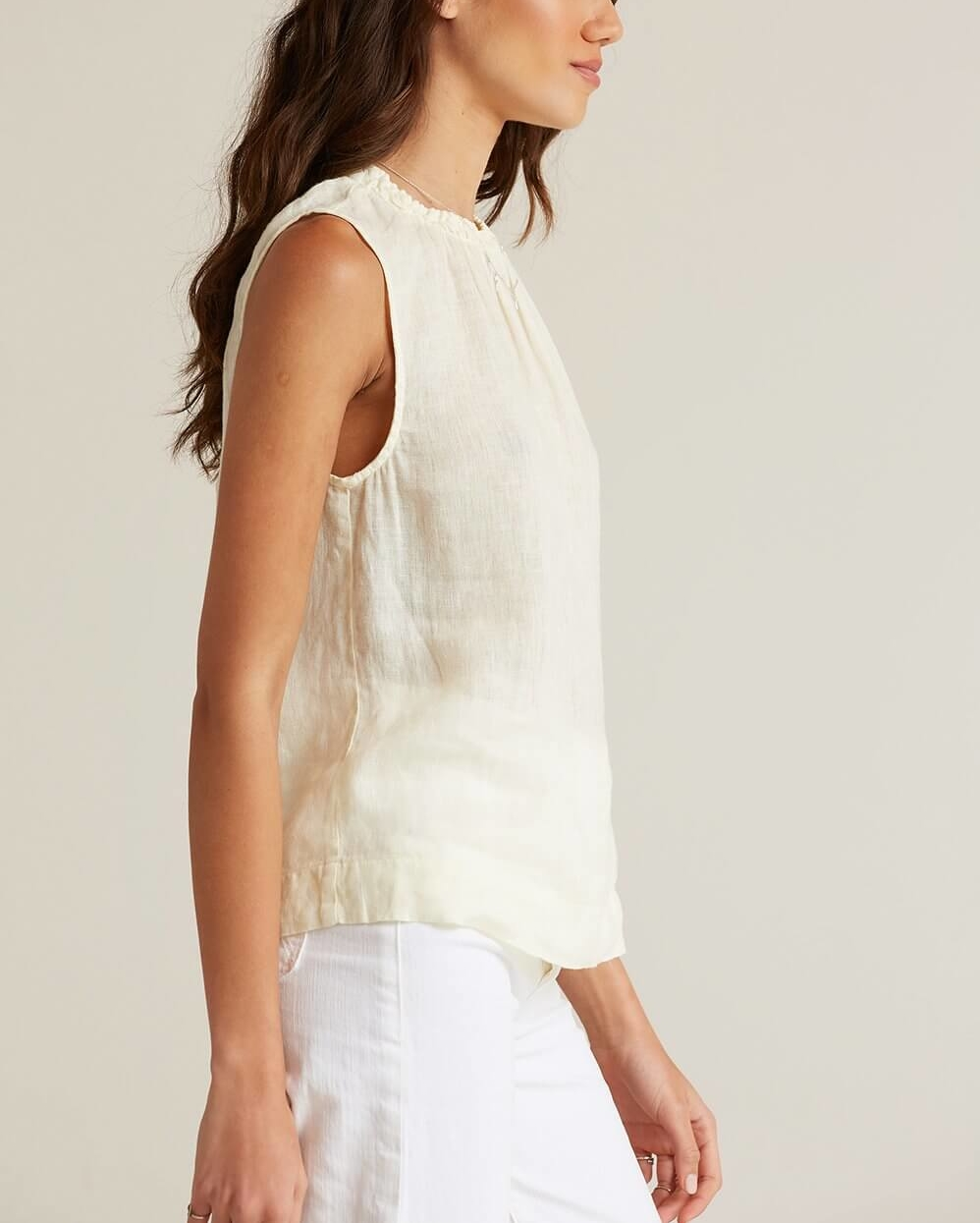 LEMON ICE SLEEVELESS TOP