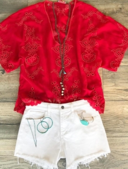 SUMMER READY IN RED