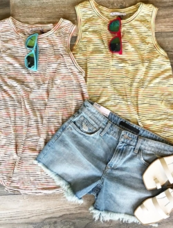 RAINBOW STRIPE TANKS (ONE SIZE)