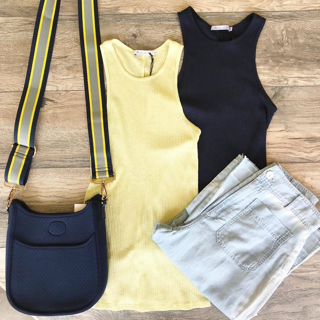 ONE SIZE RIBBED TANK (2 COLORS)