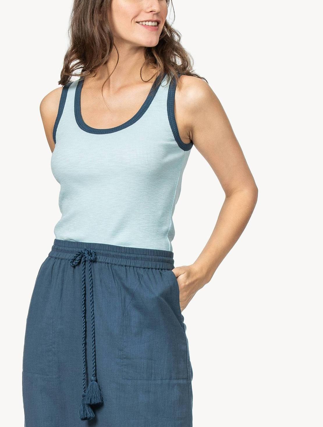A WARM WEATHER MUST RIBBED TANK