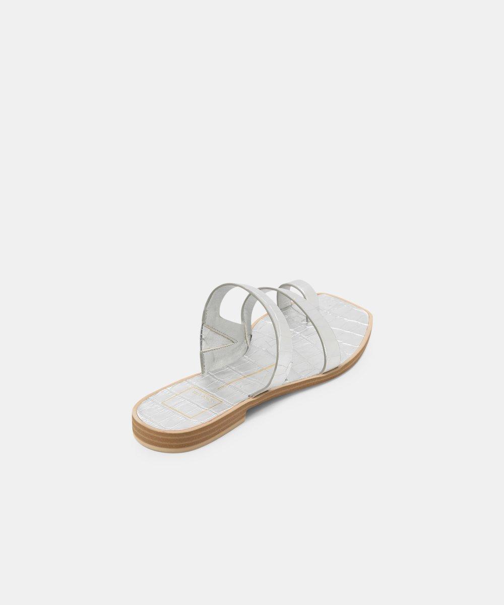 WHITE ISALA SANDALS