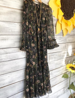 BLAINE FLORAL MAXI DRESS