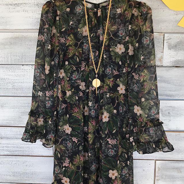 BLAINE FLORAL MAXI DRESS